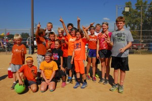 2014 Kickball Champs - Family Division Just for Kicks