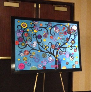 Painting For Hope by our Artist 2015
