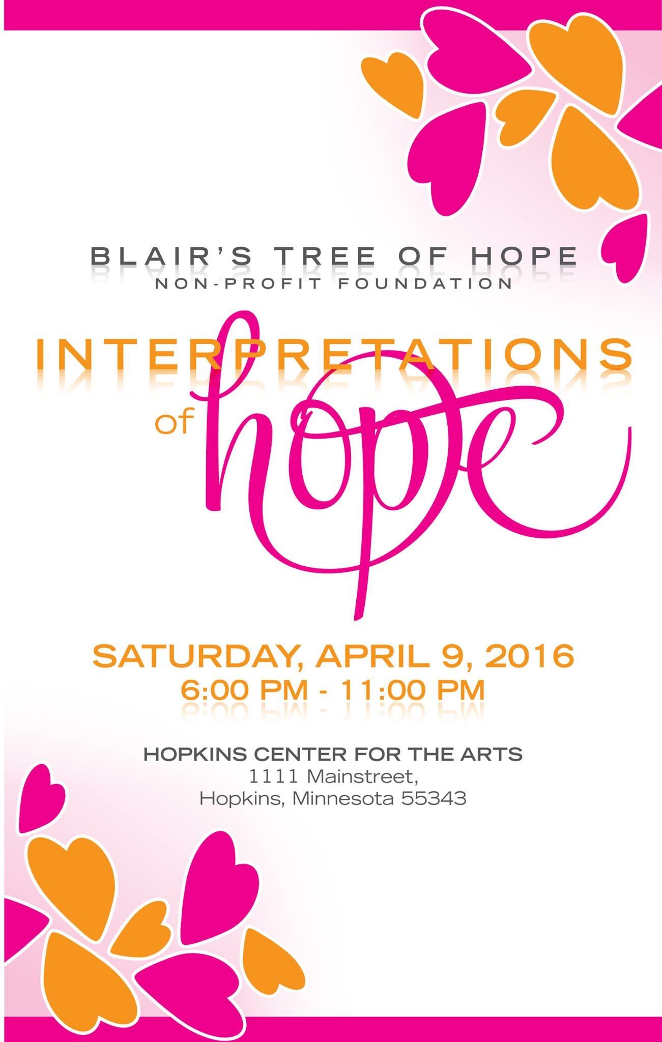 4th Annual Interpretations of Hope Event Program 492016 – Event Program
